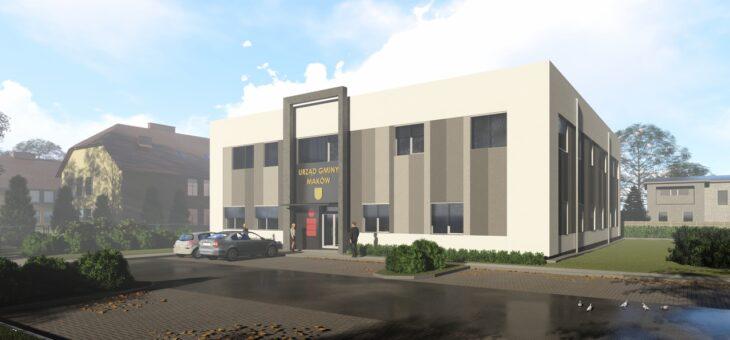 Budowa pasywnego budynku urzędu gminy w Makowie